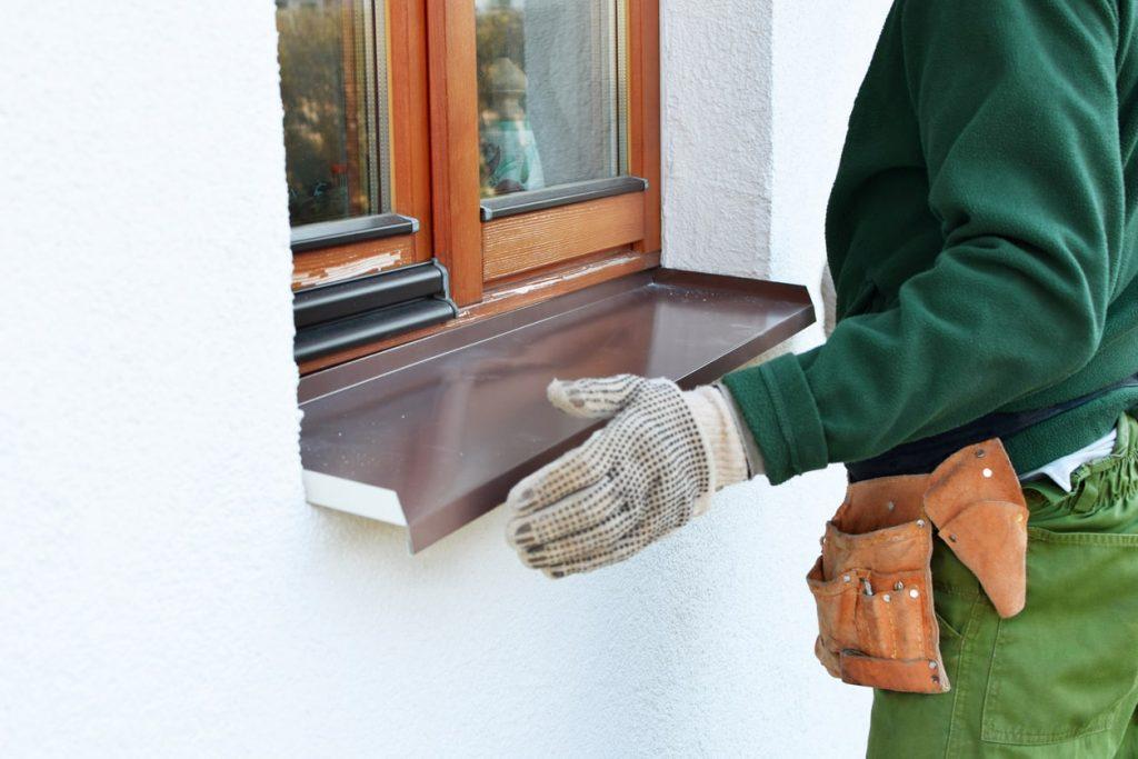 Fensterbank außen: Material, Kosten, Einbau